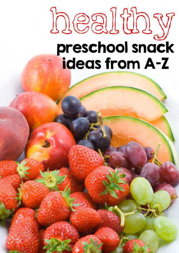 Healthy Preschool Snacks  Healthy preschool snack ideas from A Z The Measured Mom