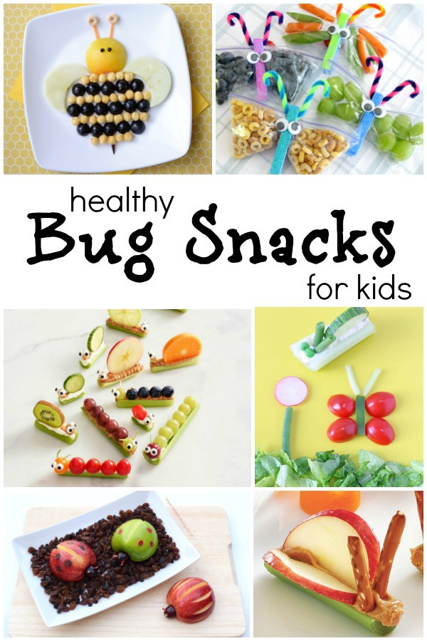 Healthy Preschool Snacks  The Cutest Bug Theme Healthy Snacks for Kids Fantastic