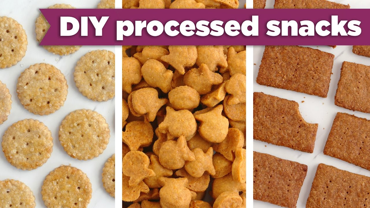 Healthy Processed Snacks  Healthy Processed Snacks – DIY Goldfish Graham Crackers