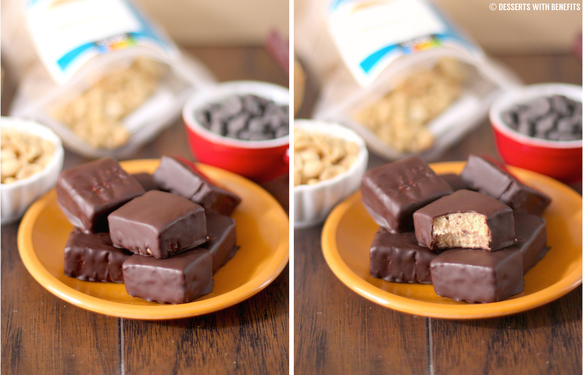 Healthy Protein Desserts  Healthy Reese s Fudge Recipe High Protein