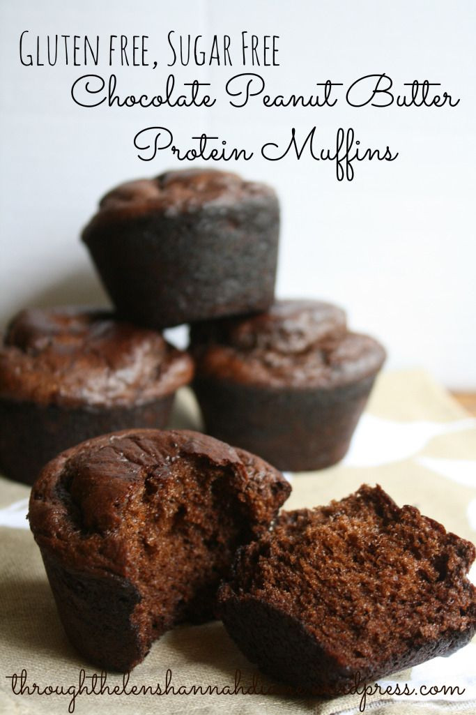 Healthy Protein Desserts  176 best images about Muffins on Pinterest