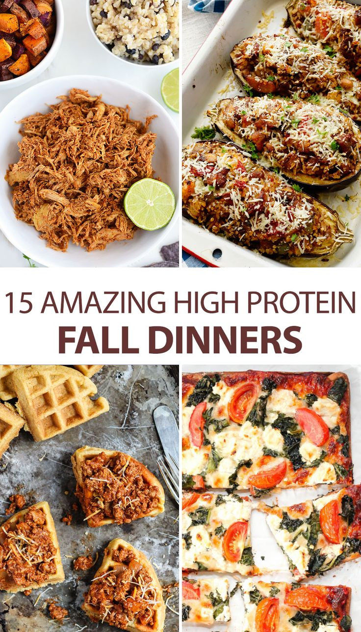 Healthy Protein Dinners  15 Amazing High Protein Fall Dinners