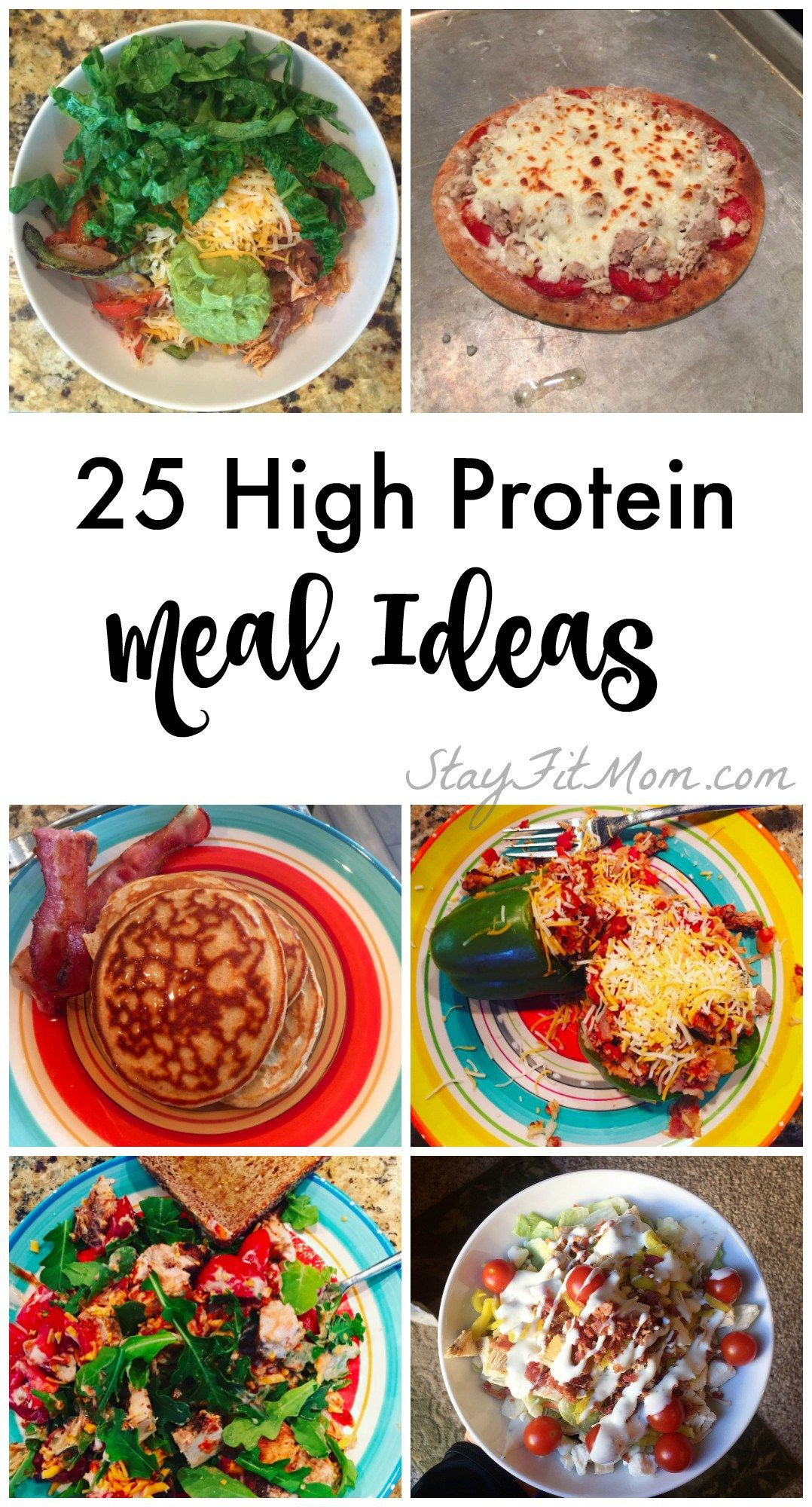Healthy Protein Dinners  25 Easy High Protein Meal Ideas