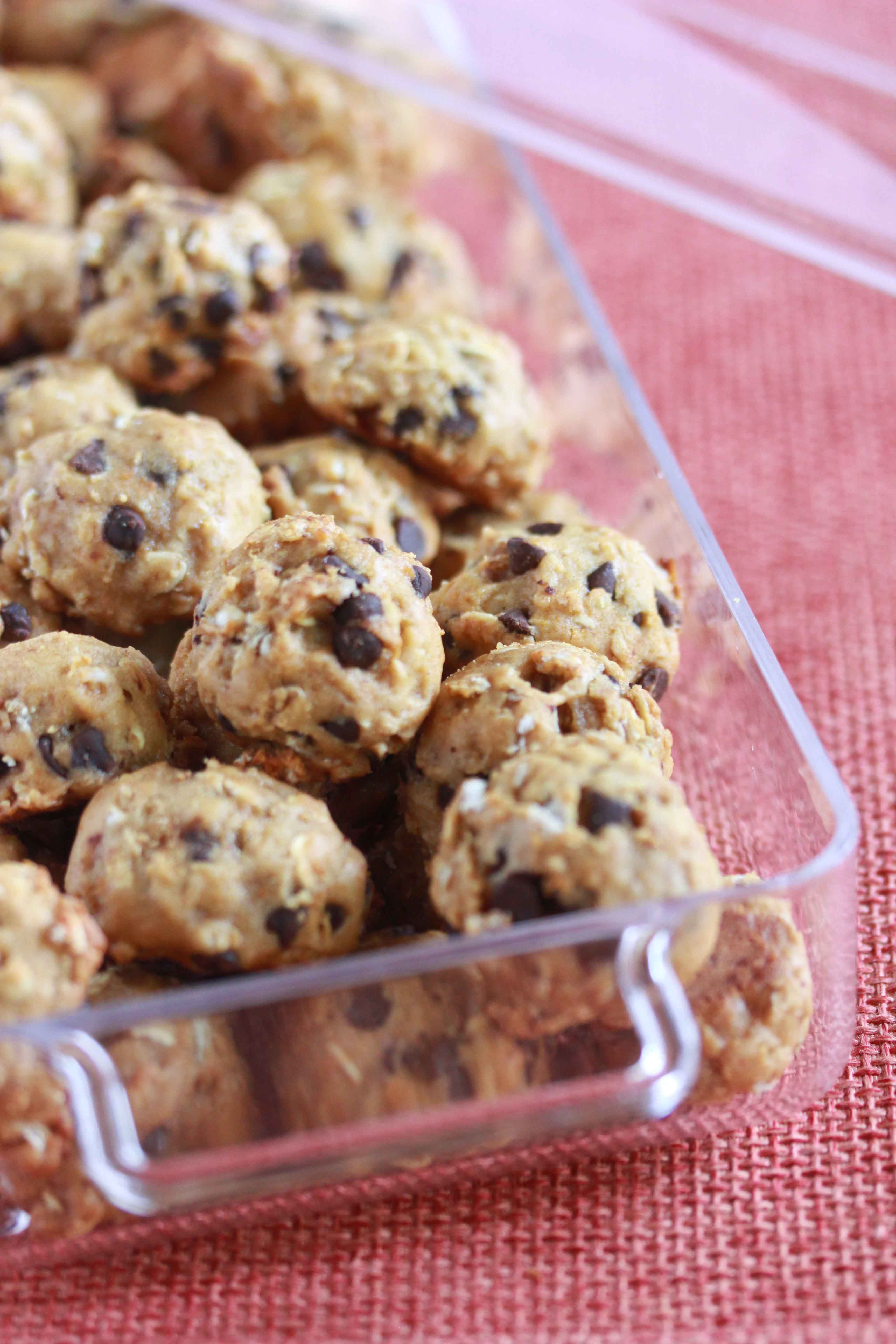 Healthy Protein Oatmeal Cookies  World s Best Healthy Oatmeal Protein Cookies Overtime Cook