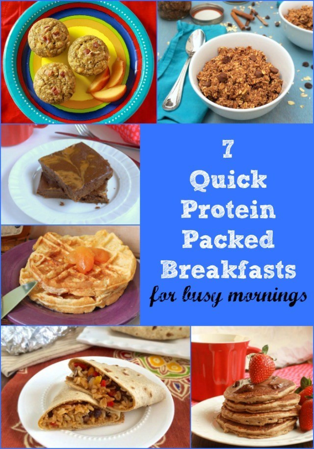 Healthy Protein Packed Breakfast  Quick Protein Breakfast Recipes