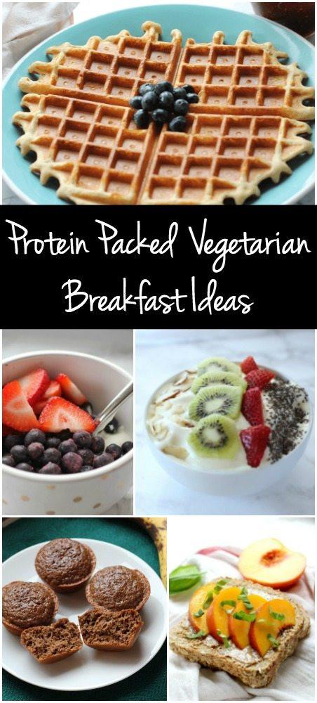 Healthy Protein Packed Breakfast  My 5 Favorite Protein Packed Ve arian Breakfast Ideas