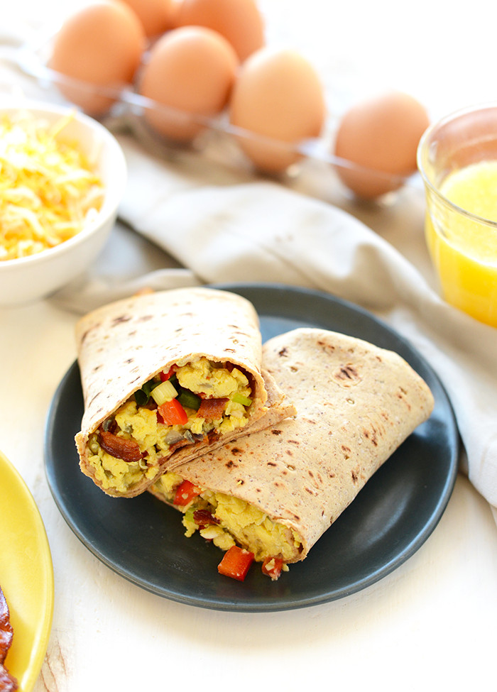 Healthy Protein Packed Breakfast  Protein Packed Breakfast Burritos Hello HealthyHello Healthy