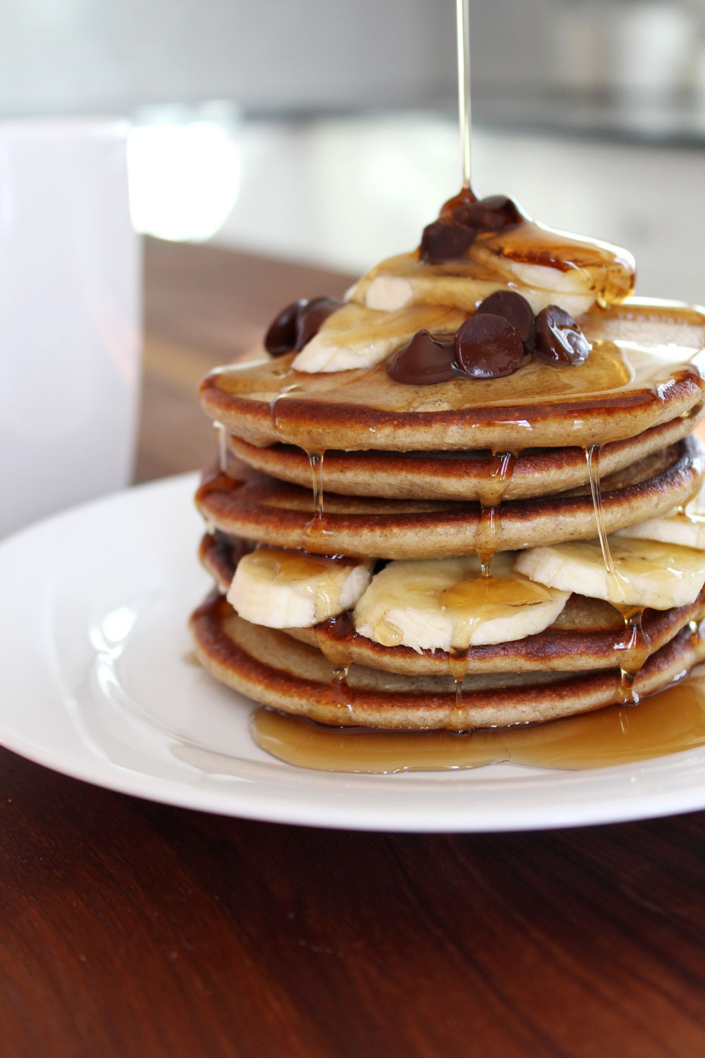 Healthy Protein Pancakes  Healthy Protein Pancakes The Newlyweds Cookbook