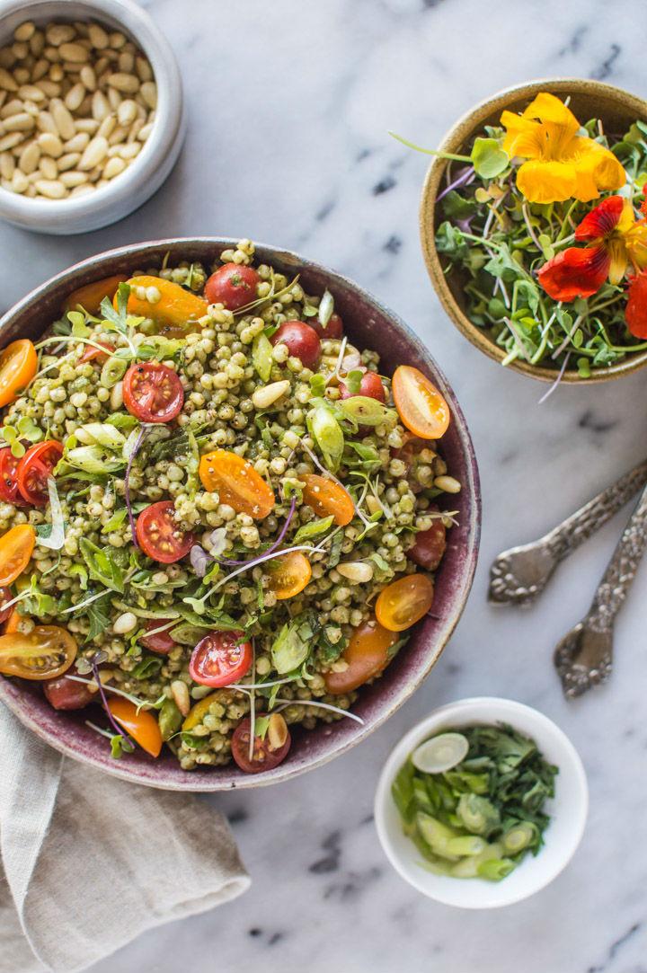 Healthy Protein Salads  50 Vegan High Protein Salads