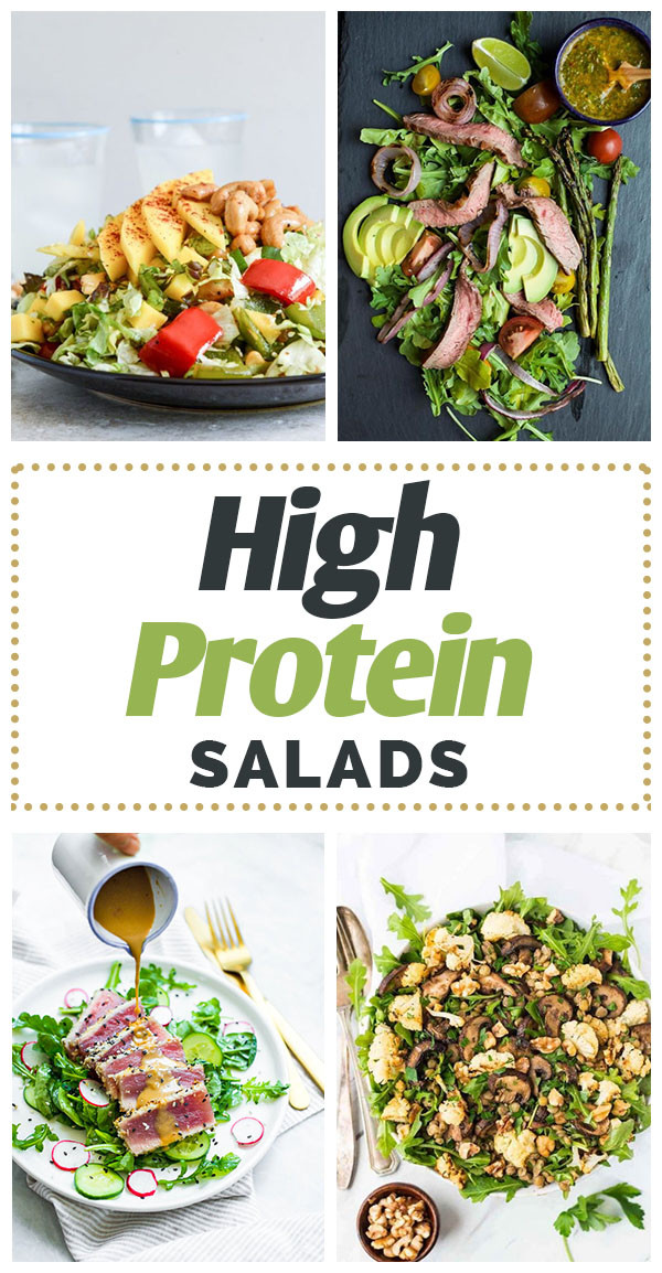 Healthy Protein Salads  Healthy High Protein Salads Fueling Your Training