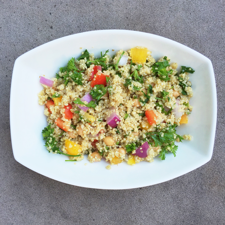 Healthy Protein Salads  Quinoa Protein Salad – Kale & Krunches