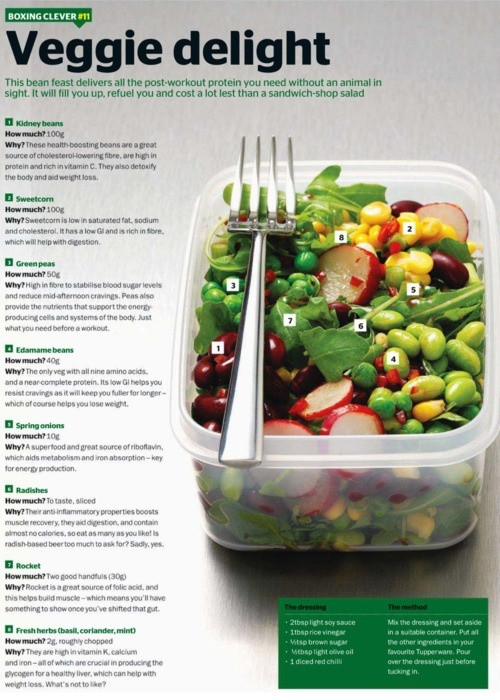 Healthy Protein Salads  17 Best images about Low fat on Pinterest