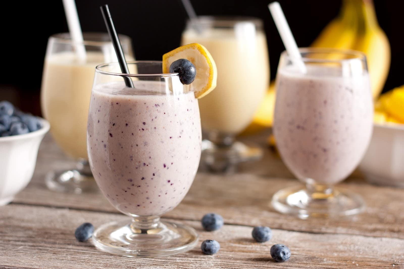 Healthy Protein Smoothies  Nutritional Smoothie Recipe — Dishmaps