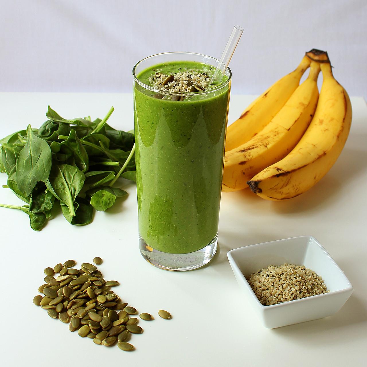 Healthy Protein Smoothies  Green Protein Power Breakfast Smoothie I LOVE VEGAN