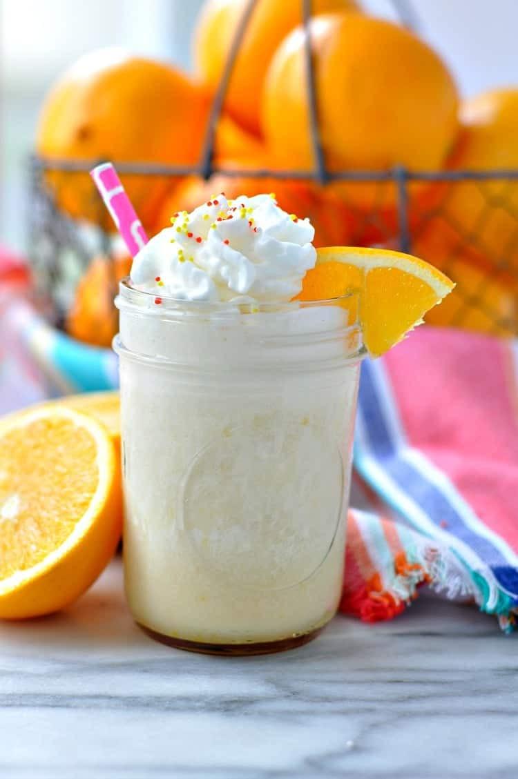 Healthy Protein Smoothies  Orange Dream Protein Smoothie The Seasoned Mom