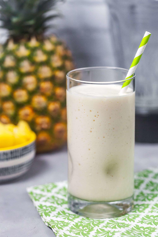 Healthy Protein Smoothies  Piña Colada Protein Shake Recipe