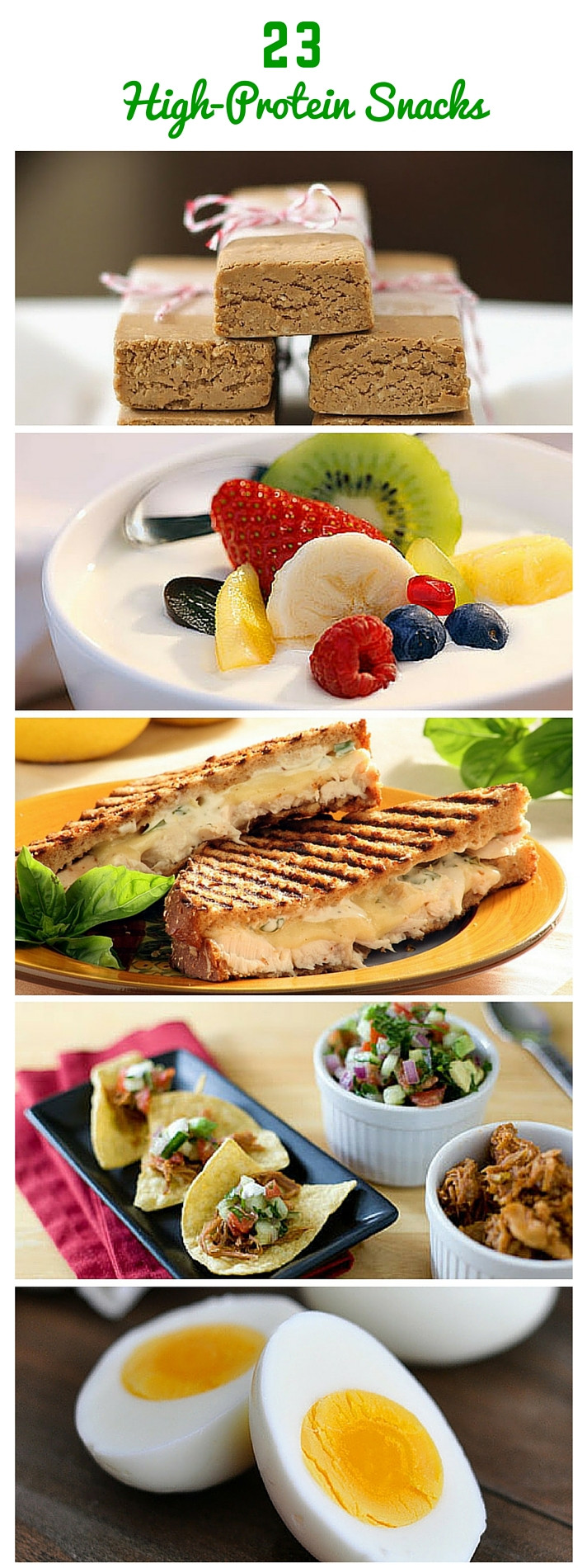 Healthy Protein Snacks  23 Healthy and Portable High Protein Snacks Daily Fit Hit