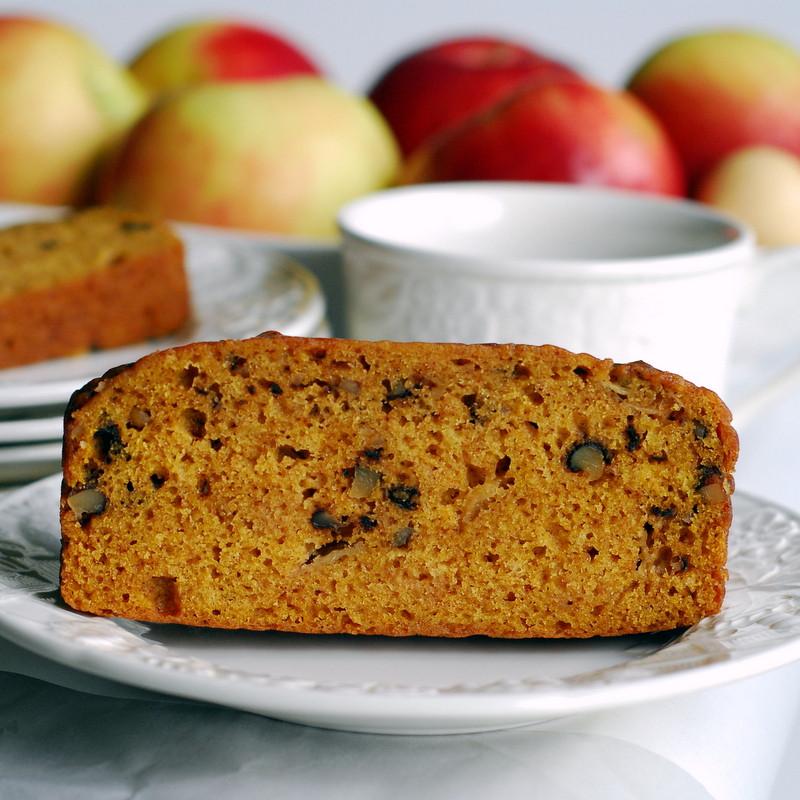 Healthy Pumpkin Apple Bread  Pumpkin Apple Bread