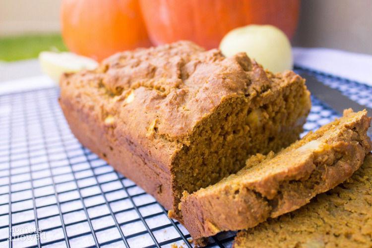 Healthy Pumpkin Apple Bread  Healthy Holiday Ideas No Diets Allowed