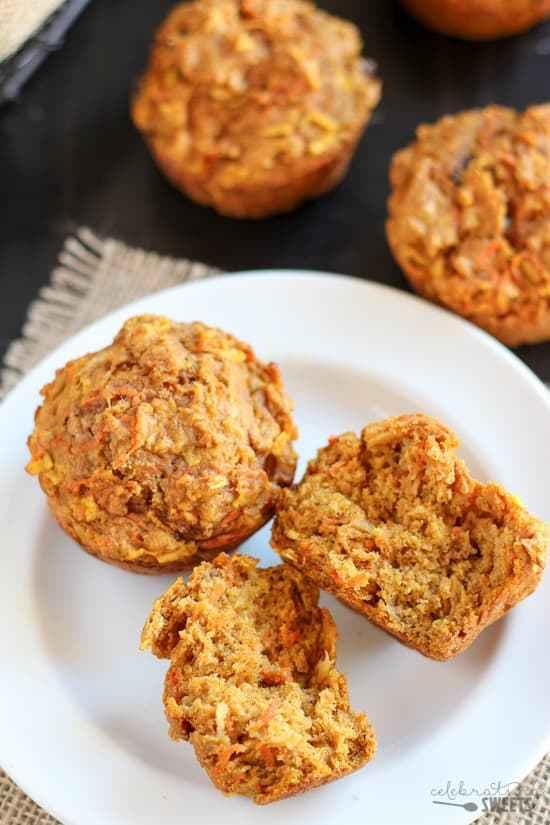 Healthy Pumpkin Apple Bread  Healthy Pumpkin Carrot Apple Muffins