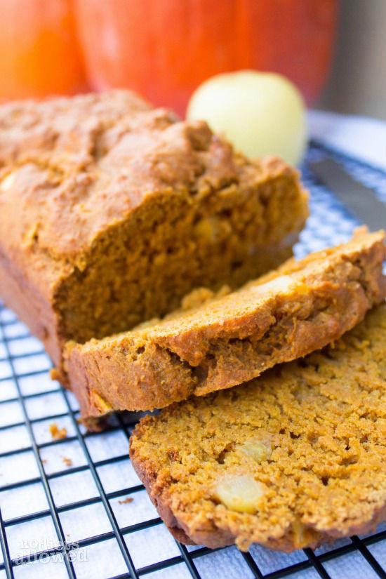 Healthy Pumpkin Apple Bread  Pumpkin Apple Bread No Diets Allowed