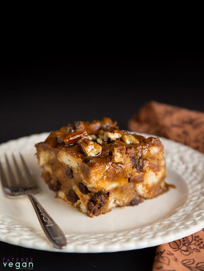 Healthy Pumpkin Bread Pudding  10 Healthy Vegan Christmas Dessert Recipes