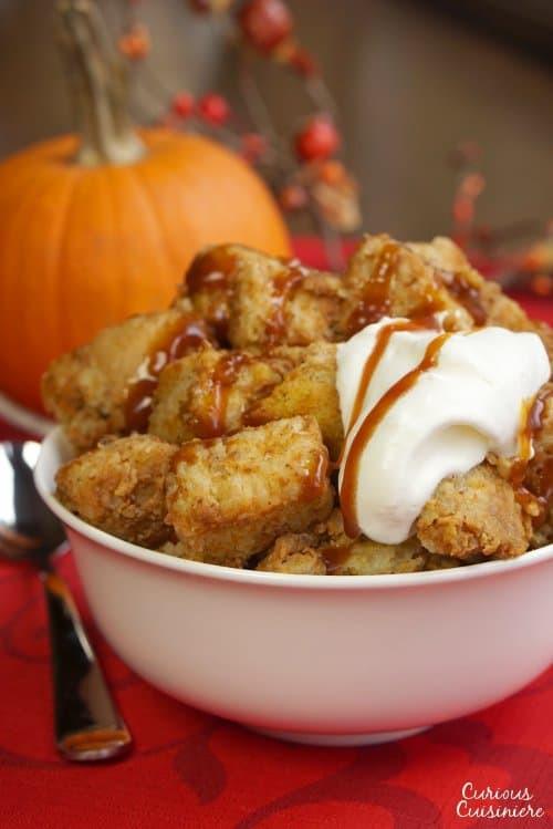 Healthy Pumpkin Bread Pudding  Crock Pot Pumpkin Bread Pudding • Curious Cuisiniere