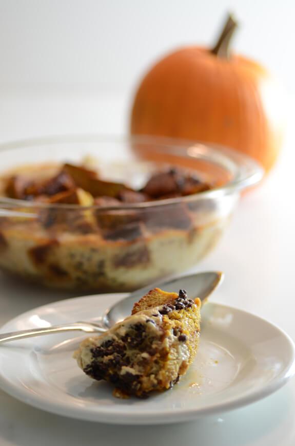 Healthy Pumpkin Bread Pudding  Easy Pumpkin Bread Pudding Recipe Elana s Pantry