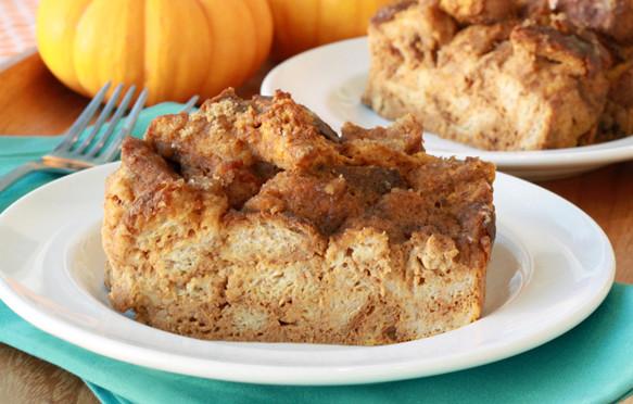 Healthy Pumpkin Bread Pudding  Healthy Pumpkin Bread Pudding Recipe Low Calorie Pumpkin