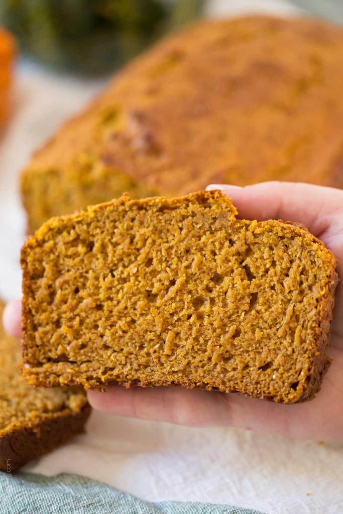 Healthy Pumpkin Bread Recipe  Healthy Pumpkin Bread — Tastes Lovely