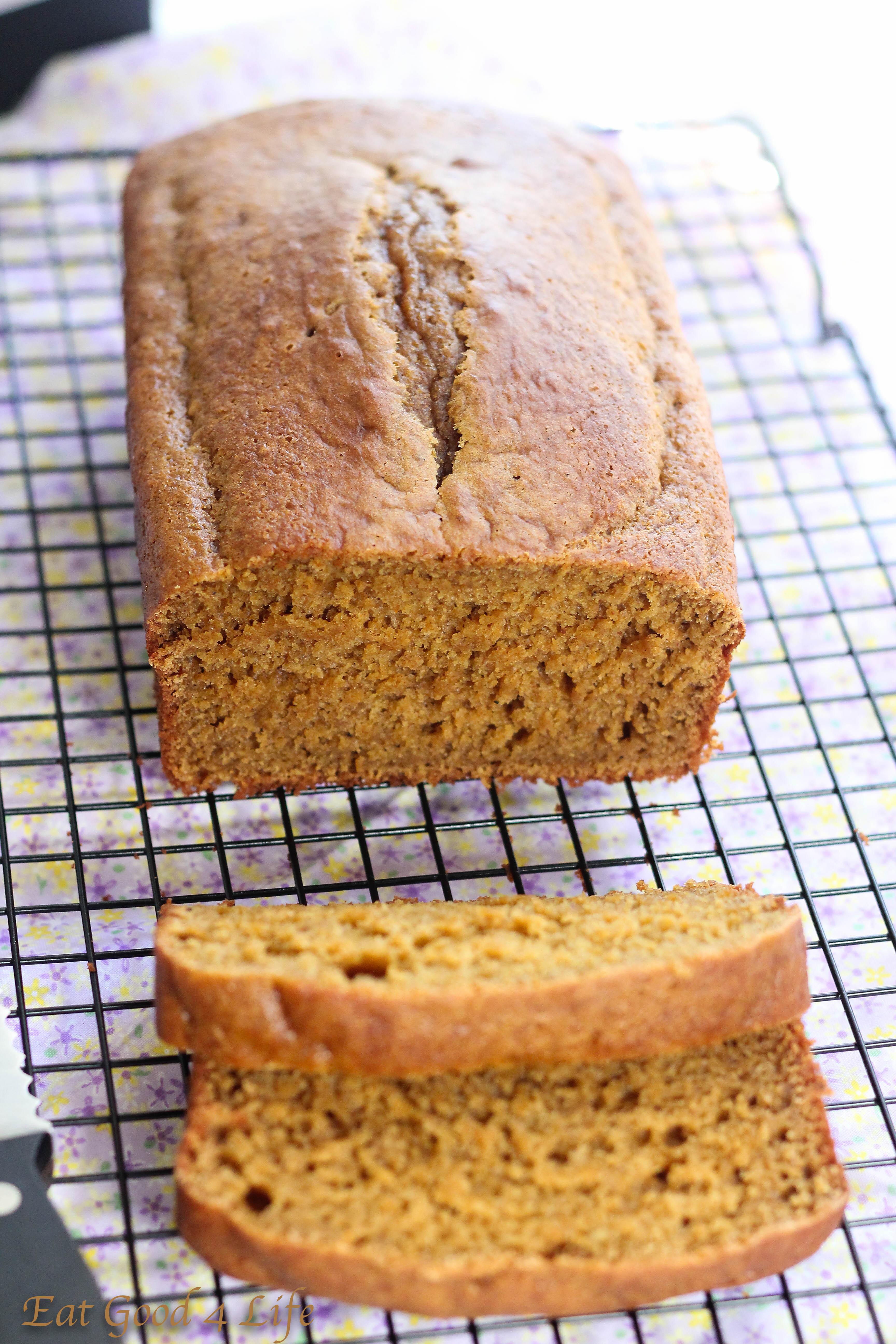 Healthy Pumpkin Bread Recipe No Sugar  Low fat pumpkin bread