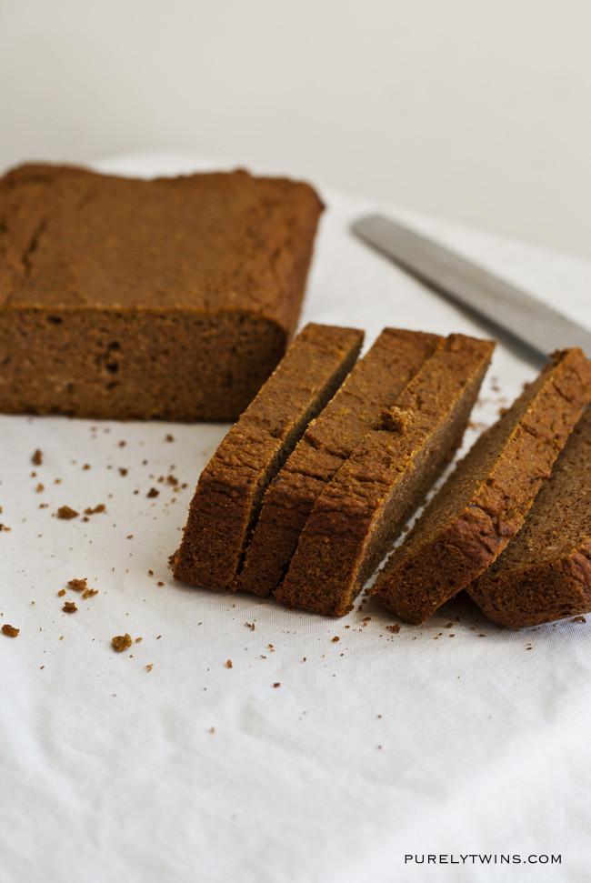 Healthy Pumpkin Bread Recipe No Sugar  low sugar pumpkin bread
