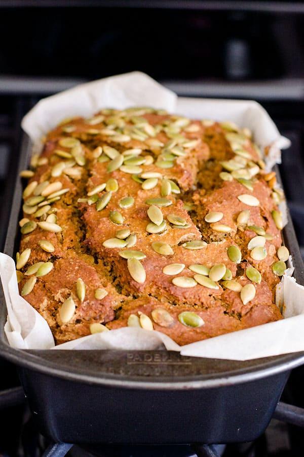 Healthy Pumpkin Bread Recipe No Sugar  Healthy Pumpkin Bread iFOODreal Healthy Family Recipes