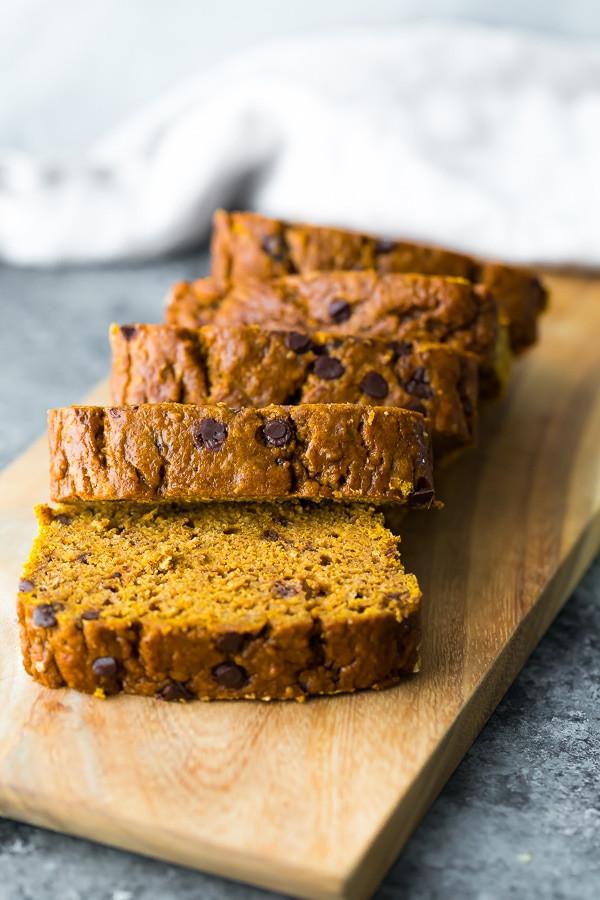 Healthy Pumpkin Bread Recipe No Sugar  The BEST Healthy Pumpkin Bread Recipe