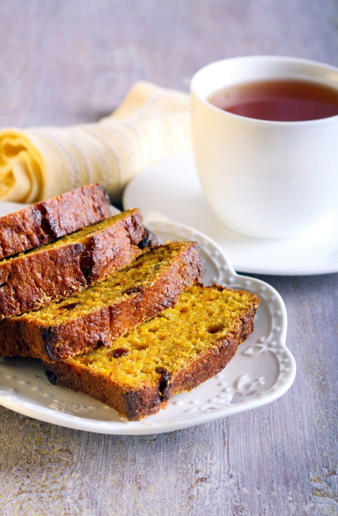 Healthy Pumpkin Bread Recipe With Canned Pumpkin  Healthy Pumpkin Bread with Apples and Raisins