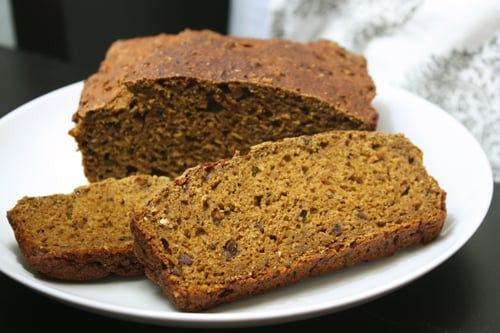 Healthy Pumpkin Bread Recipe With Canned Pumpkin  No Sugar Pumpkin Bread Recipe