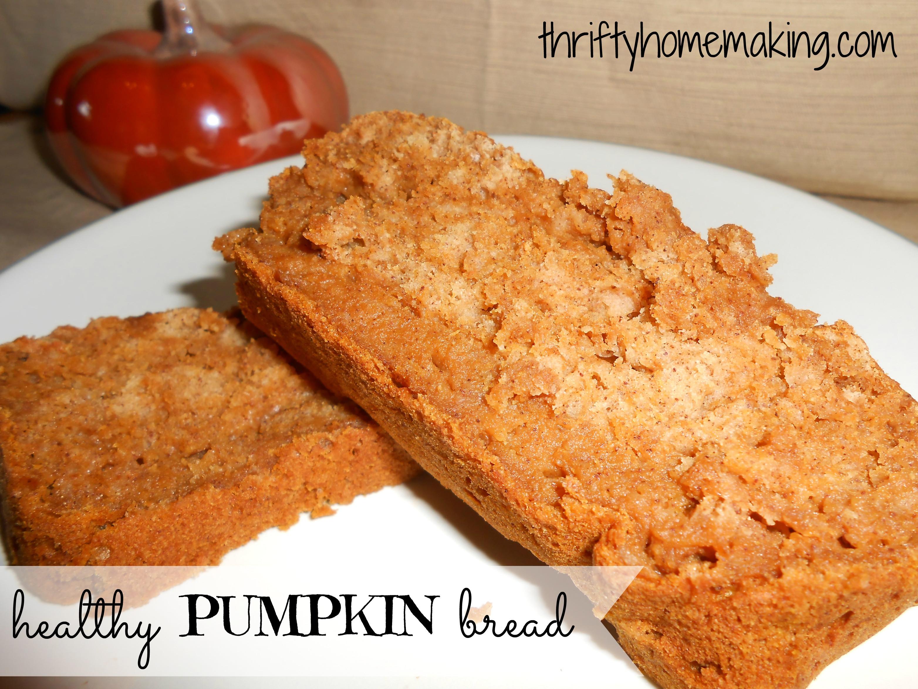 Healthy Pumpkin Bread With Applesauce  Healthy Pumpkin Bread Laura Sue Shaw