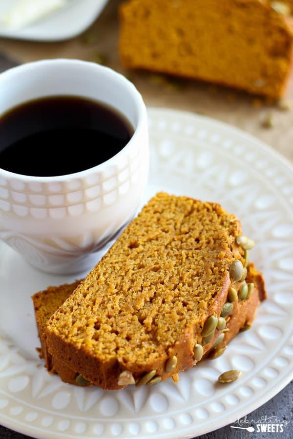 Healthy Pumpkin Bread With Applesauce  Healthy Pumpkin Bread Celebrating Sweets