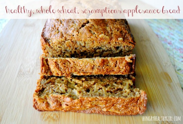 Healthy Pumpkin Bread With Applesauce  Checking Items f of my Fall Bucket List with Healthy