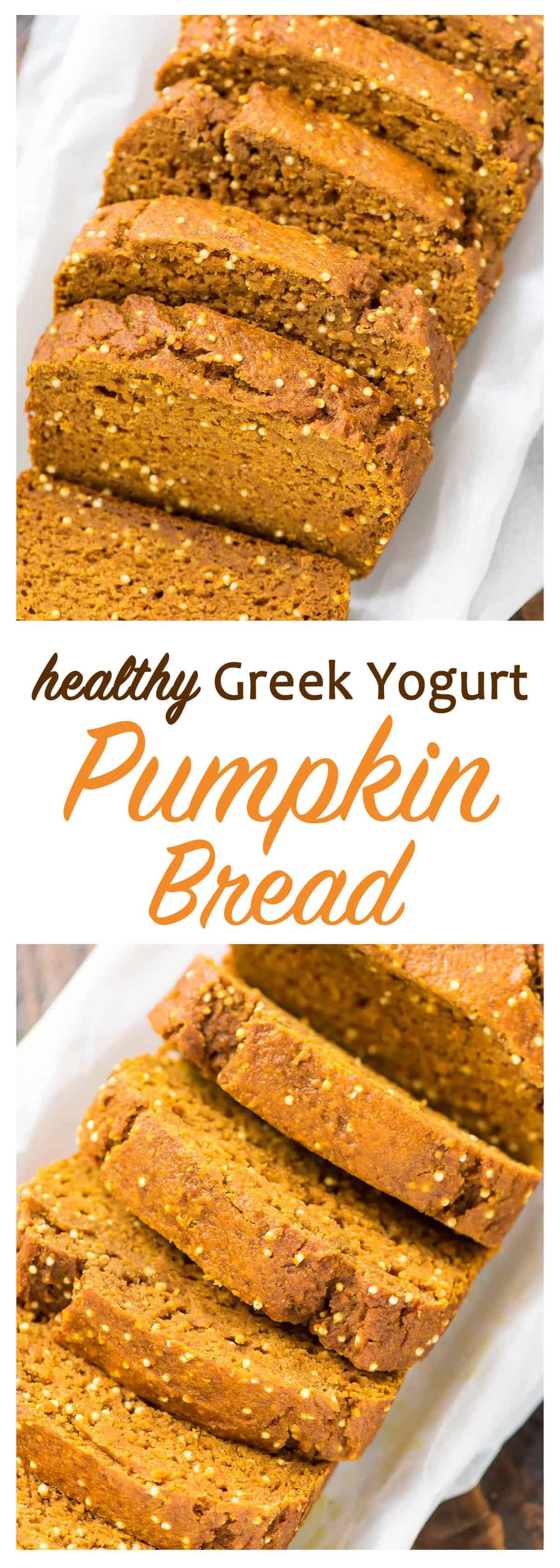 Healthy Pumpkin Bread With Yogurt  Healthy Pumpkin Bread Recipe