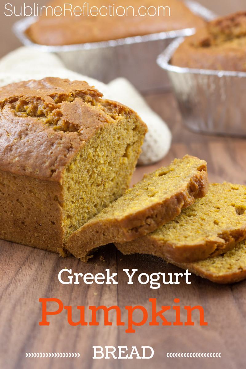Healthy Pumpkin Bread With Yogurt  Greek Yogurt Pumpkin Bread Recipe ReDux Sublime Reflection
