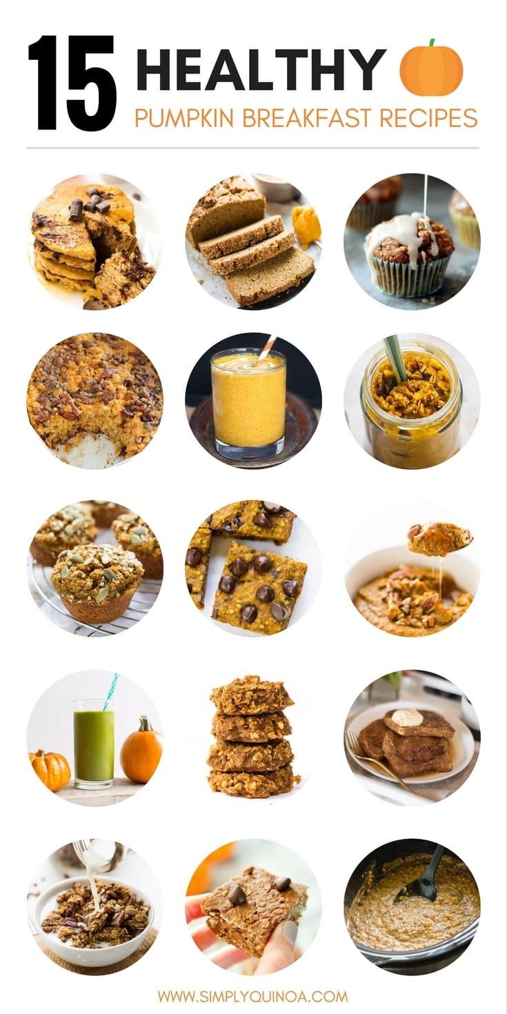 Healthy Pumpkin Breakfast Recipes  15 Must Try Healthy Pumpkin Breakfast Recipes Simply Quinoa