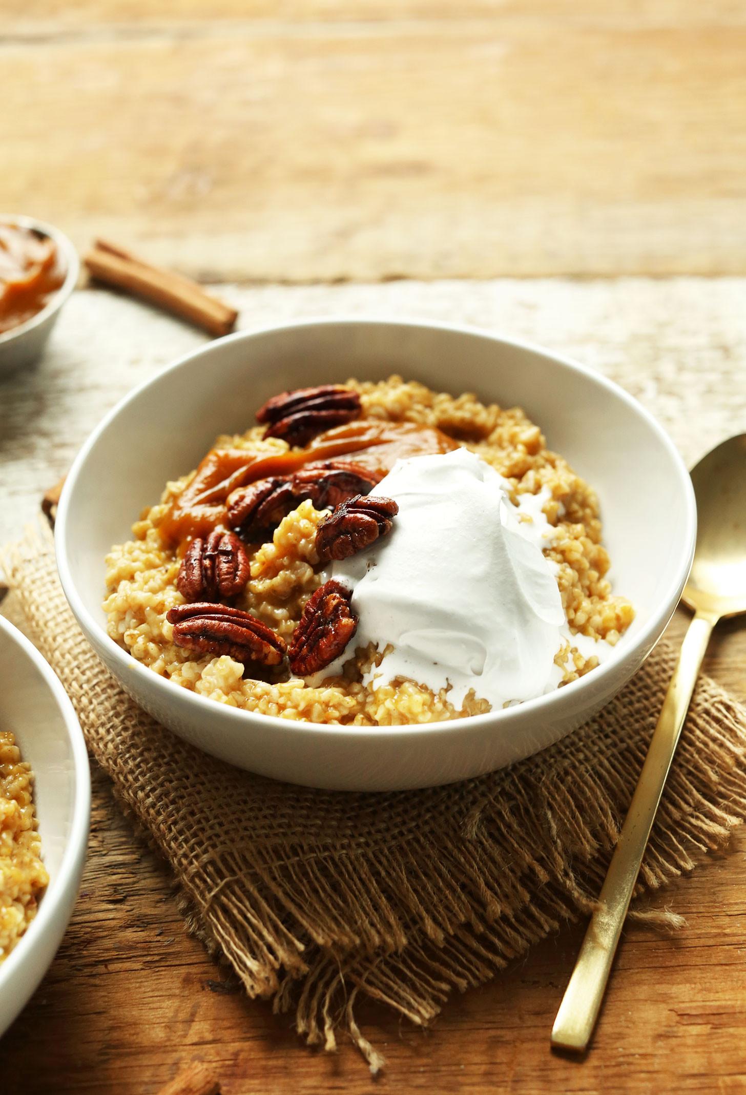 Healthy Pumpkin Breakfast Recipes  30 wholesome vegan breakfasts that will keep you full