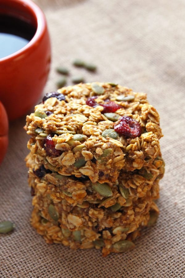 Healthy Pumpkin Breakfast Recipes  Pumpkin Breakfast Cookies gluten free clean eating