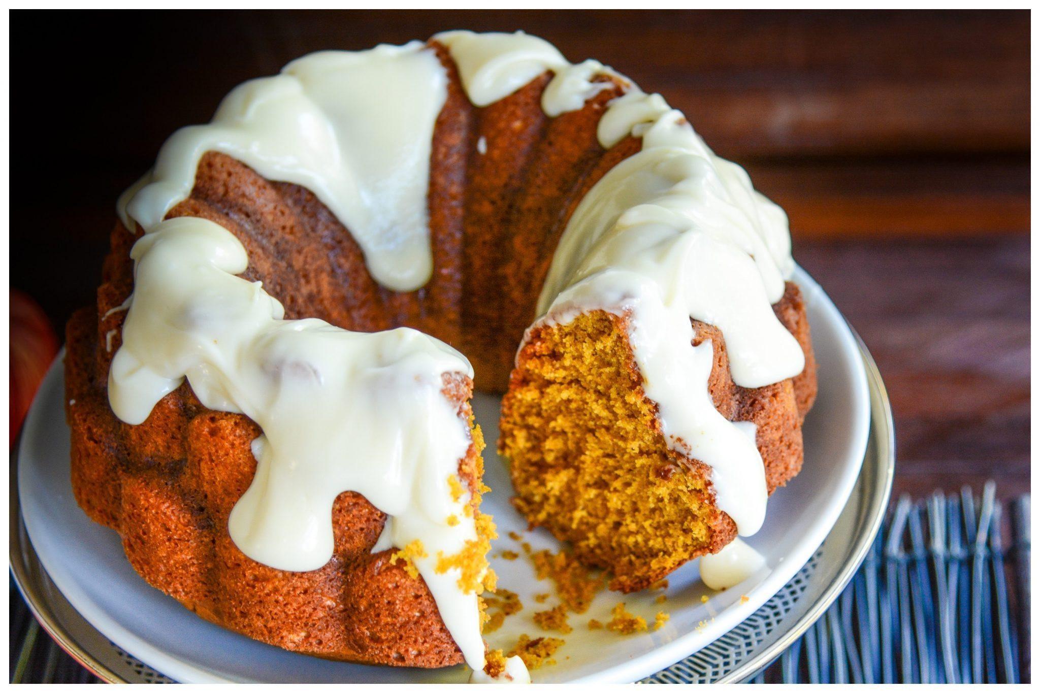 Healthy Pumpkin Bundt Cake  Pumpkin Spice Bundt Cake A Healthy Life For Me