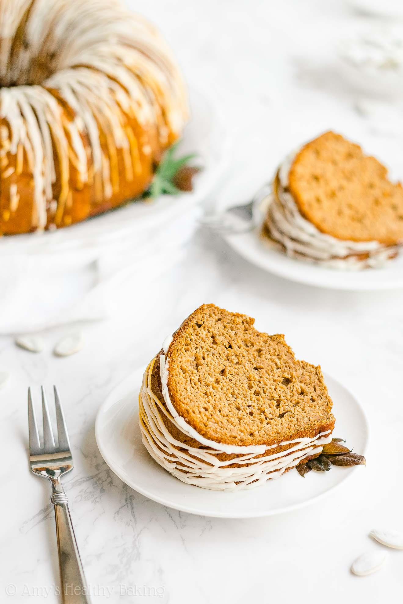 Healthy Pumpkin Bundt Cake  Healthy Pumpkin Bundt Cake