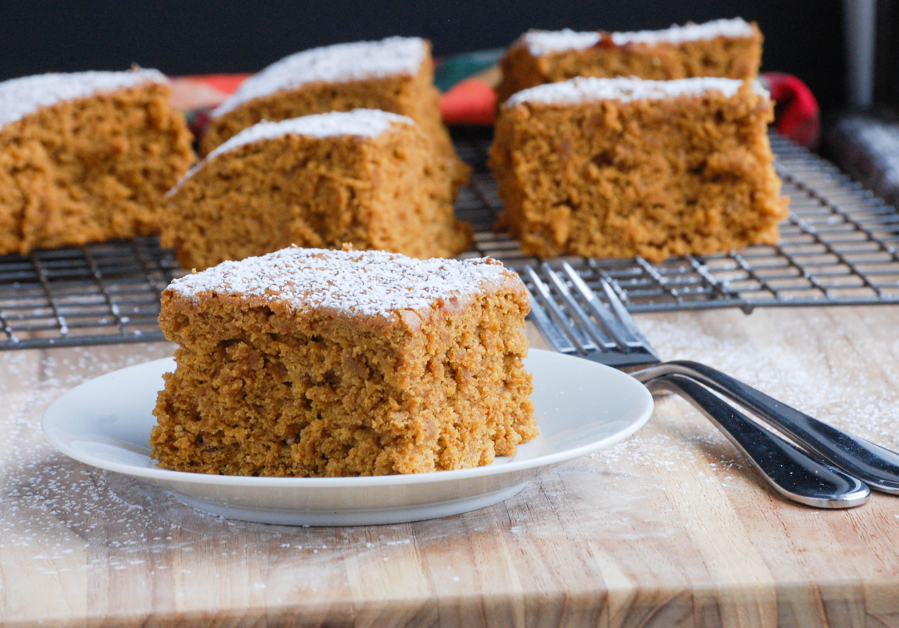 Healthy Pumpkin Cake  Healthy Pumpkin Spice Cake The District Table