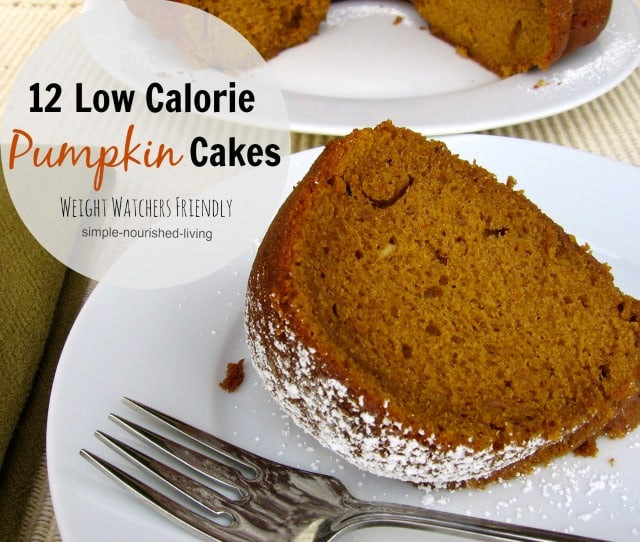 Healthy Pumpkin Cake  Weight Watchers Pumpkin Cake Recipes with WW Points Values