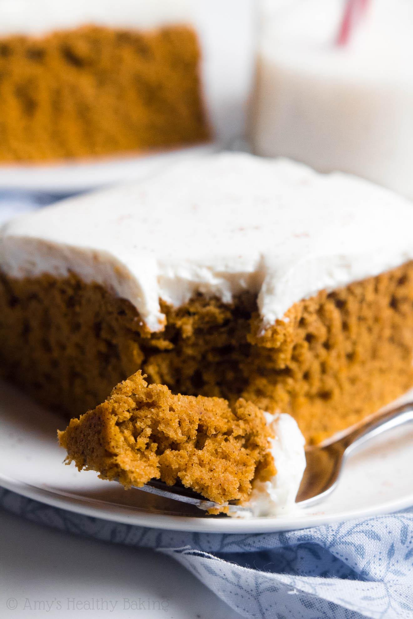 Healthy Pumpkin Cake  Pumpkin Cake with Cream Cheese Frosting