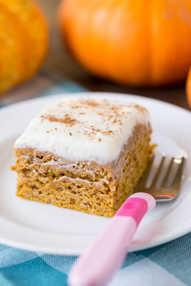 Healthy Pumpkin Cake  Healthy Pumpkin Spice Cake